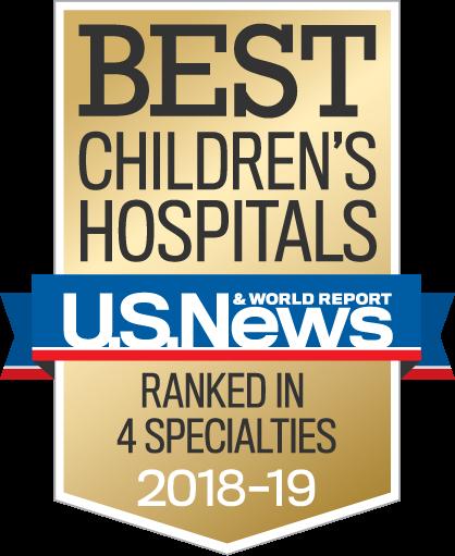 best children's hospital award logo