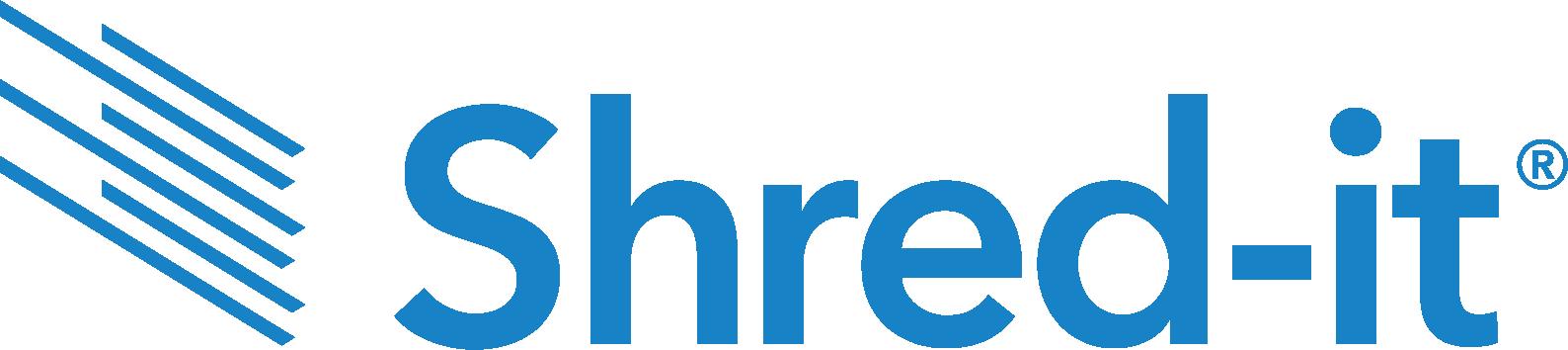 shred it logo
